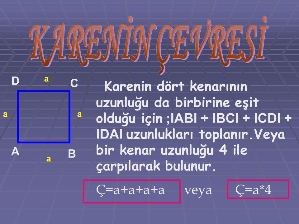 KARENİN ÇEVRESİ D. a. C.