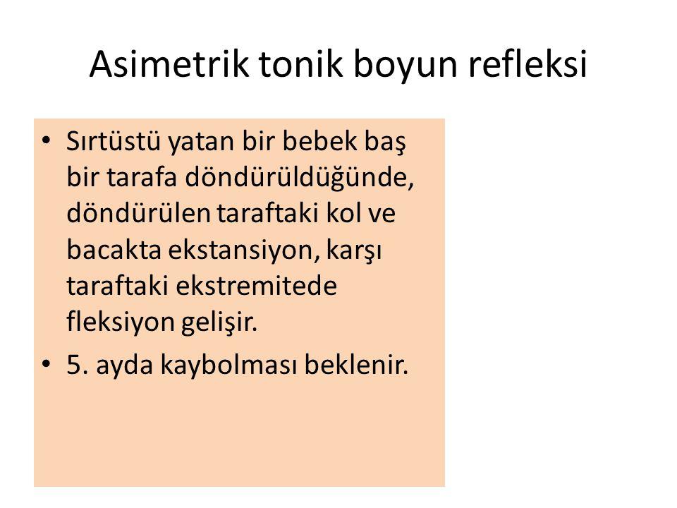 Asimetrik tonik boyun refleksi
