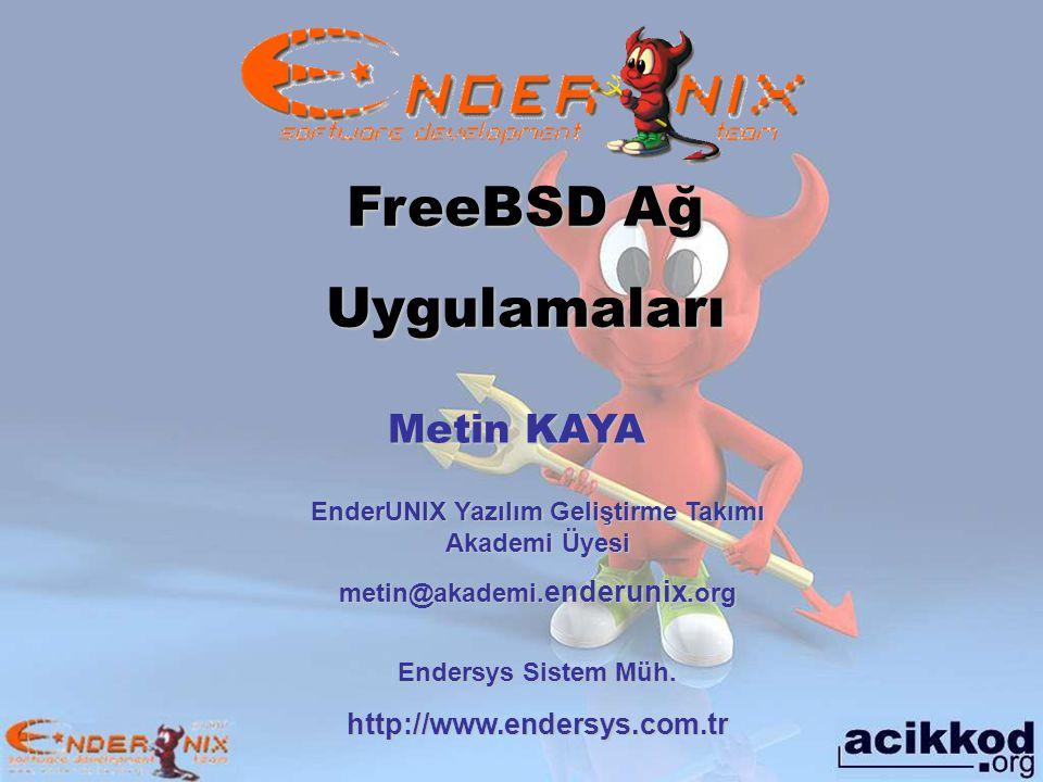 EnderUNIX Yazılım Geliştirme Takımı Akademi Üyesi