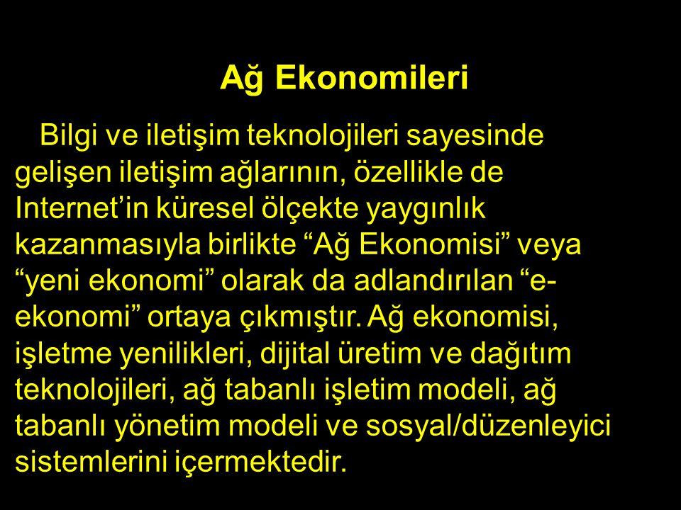 Ağ Ekonomileri