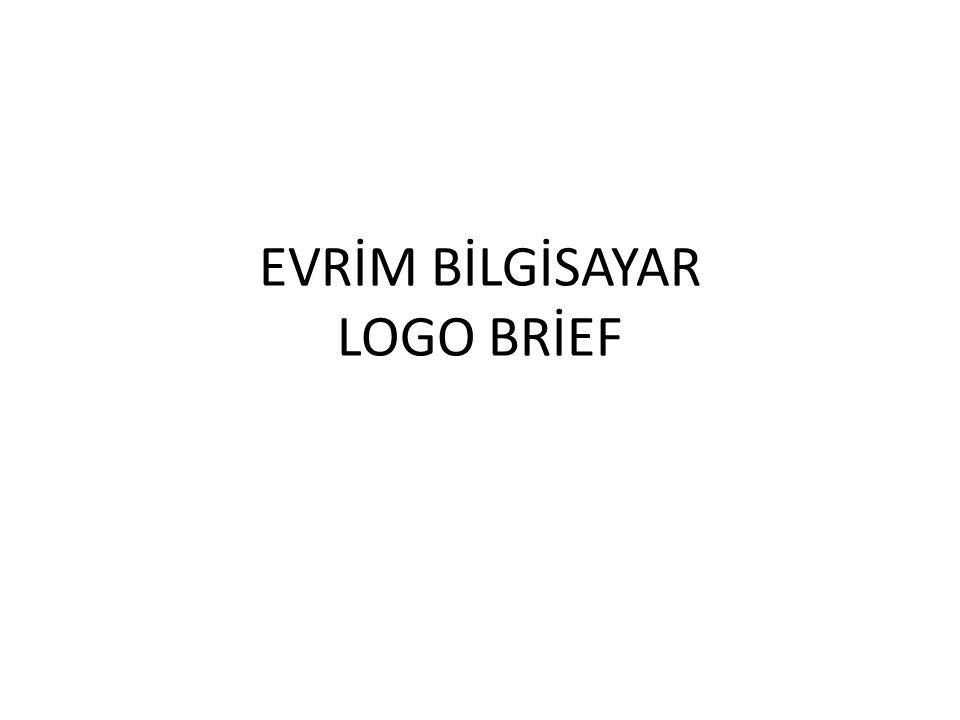 EVRİM BİLGİSAYAR LOGO BRİEF