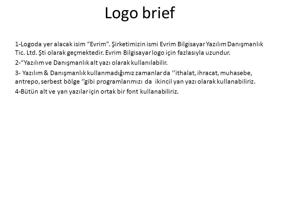 Logo brief