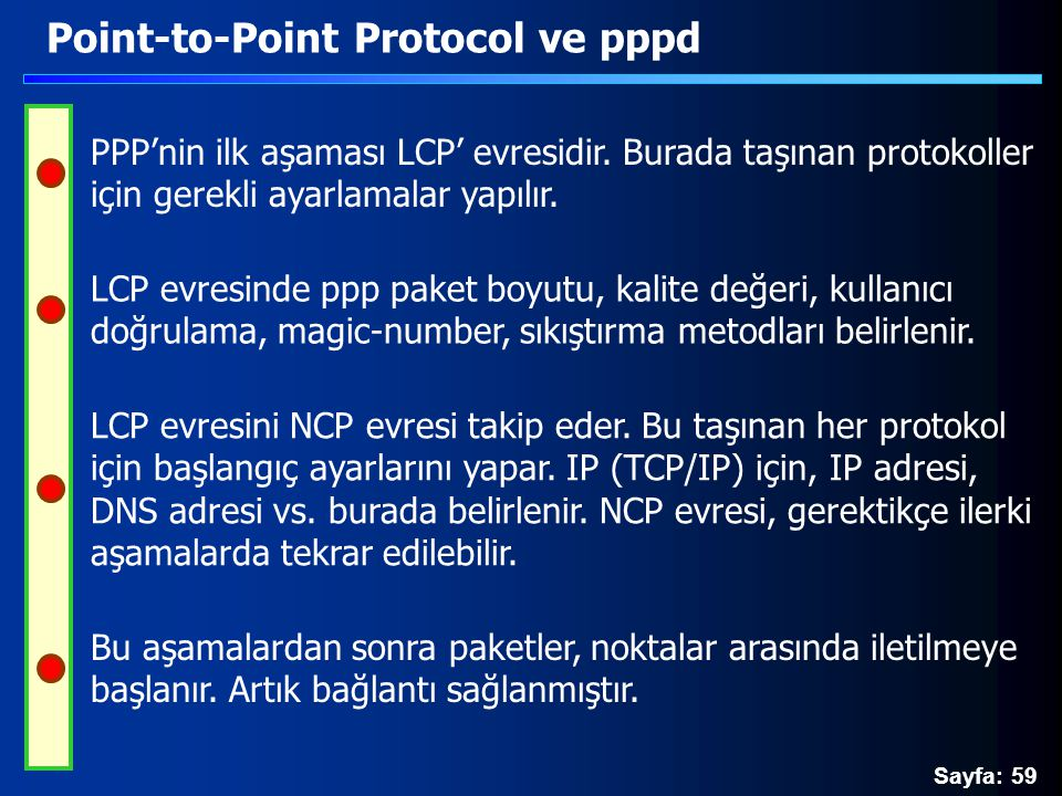 Point-to-Point Protocol ve pppd