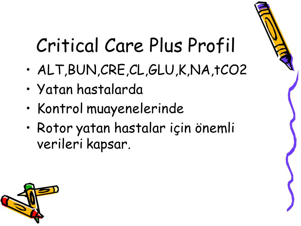 Critical Care Plus Profil
