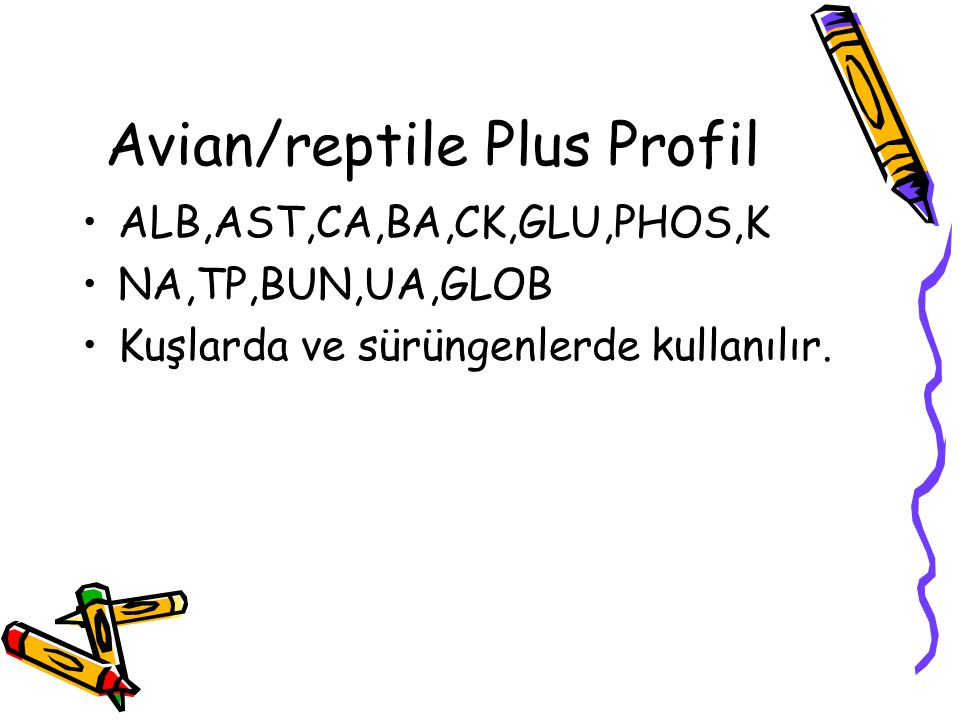 Avian/reptile Plus Profil