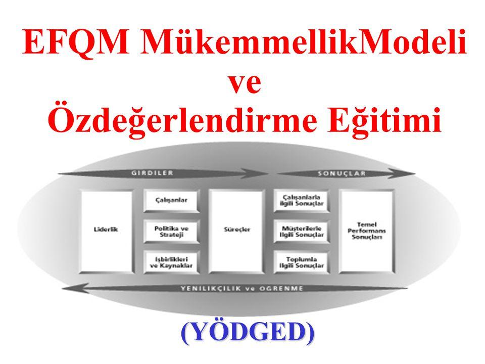 EFQM MükemmellikModeli ve Özdeğerlendirme Eğitimi
