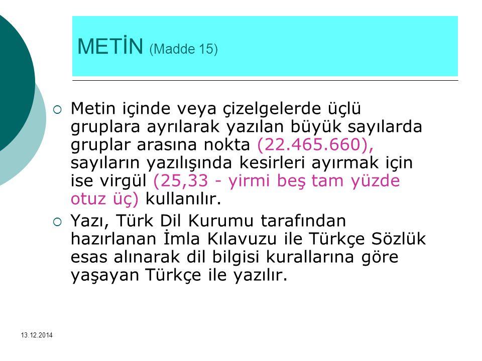 METİN (Madde 15)