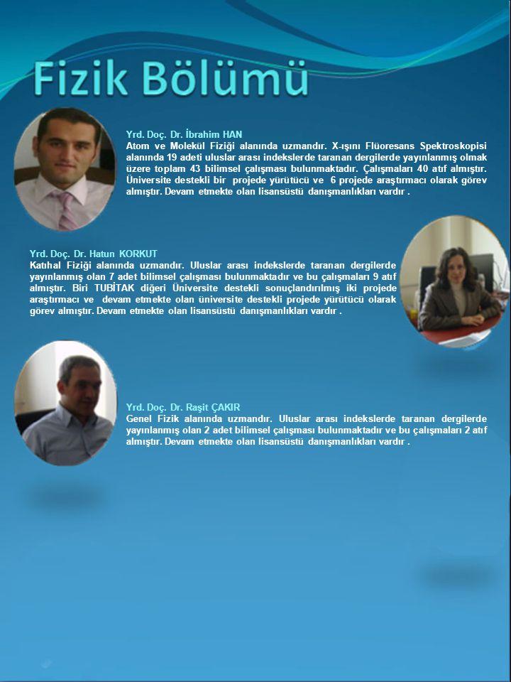 Yrd. Doç. Dr. İbrahim HAN
