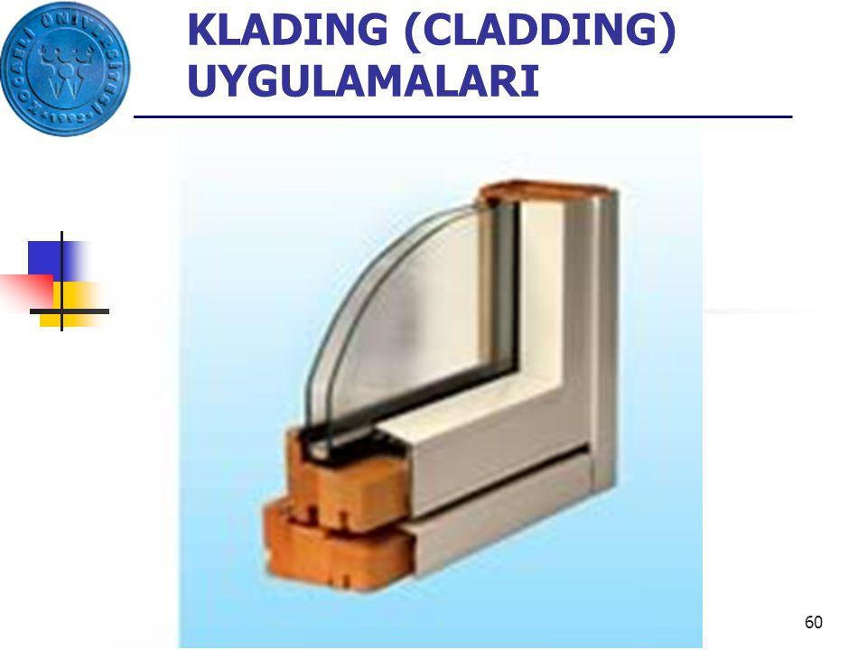 KLADING (CLADDING) UYGULAMALARI