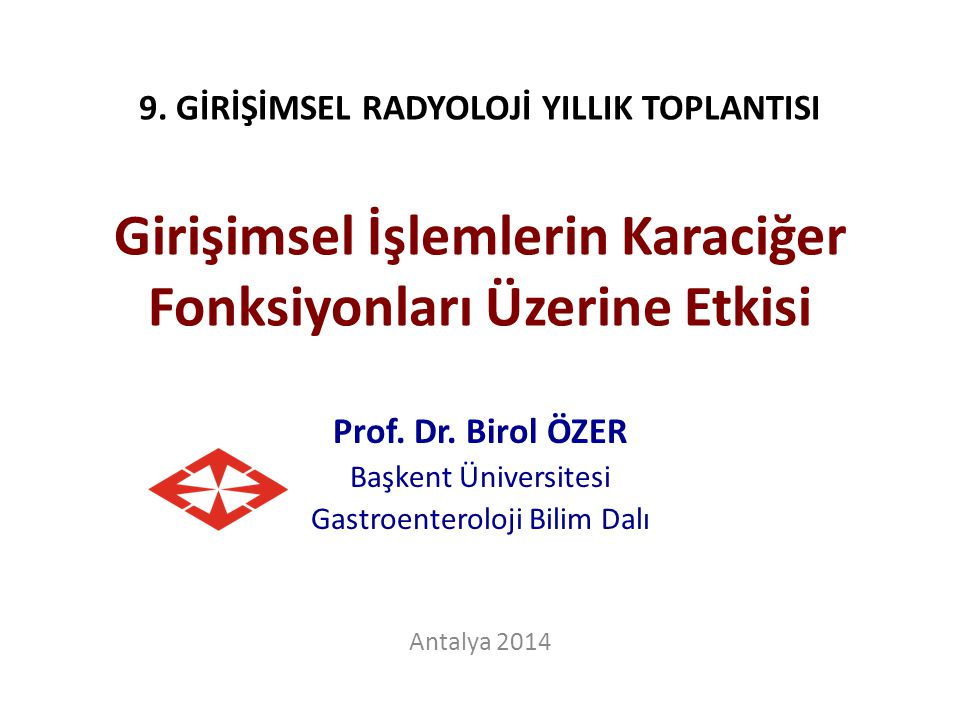 Gastroenteroloji Bilim Dalı