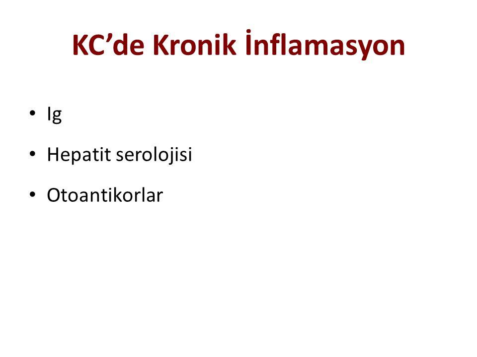 KC'de Kronik İnflamasyon