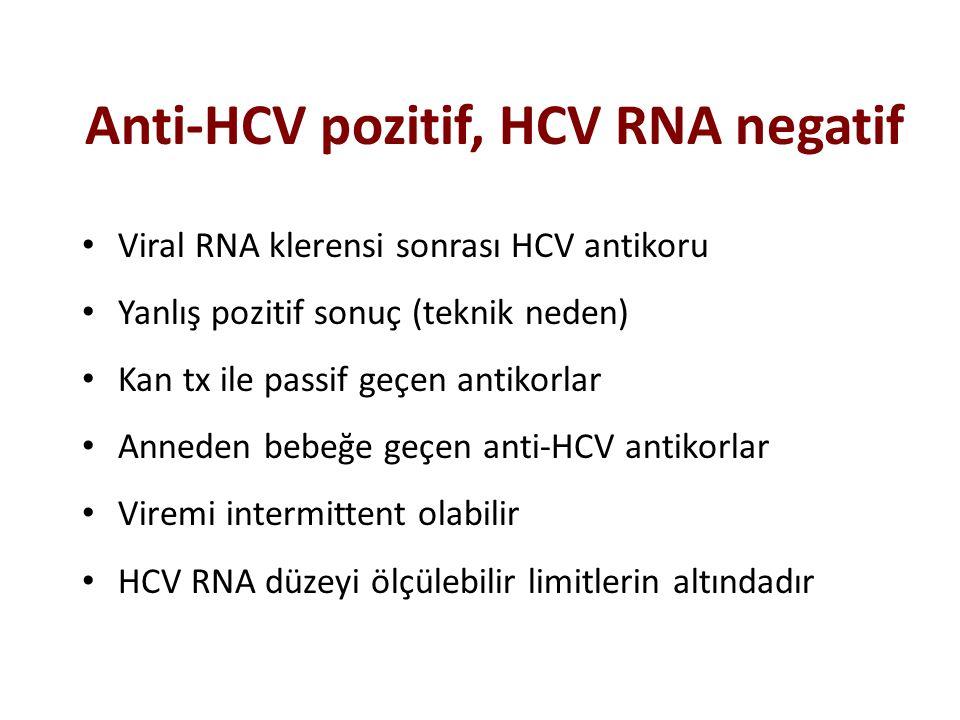 Anti-HCV pozitif, HCV RNA negatif