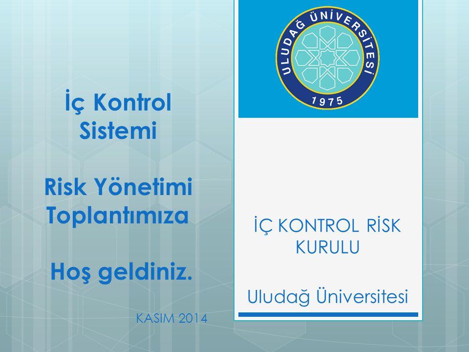 Risk Yönetimi Toplantımıza