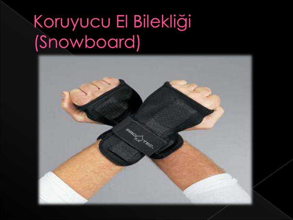 Koruyucu El Bilekliği (Snowboard)