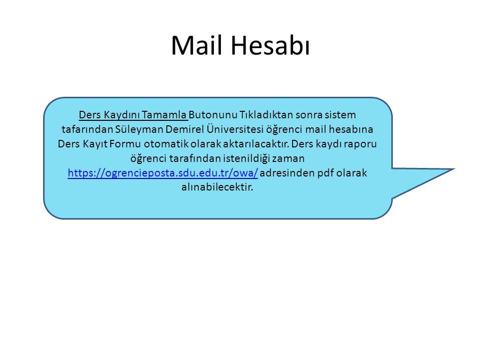 Mail Hesabı