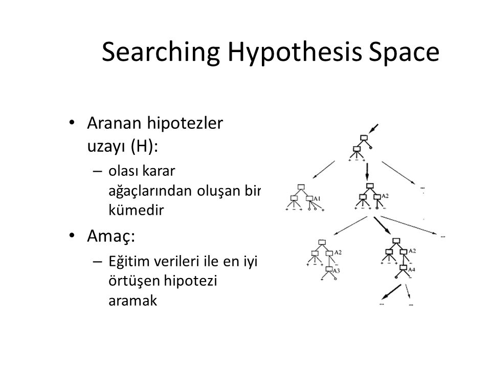 Searching Hypothesis Space