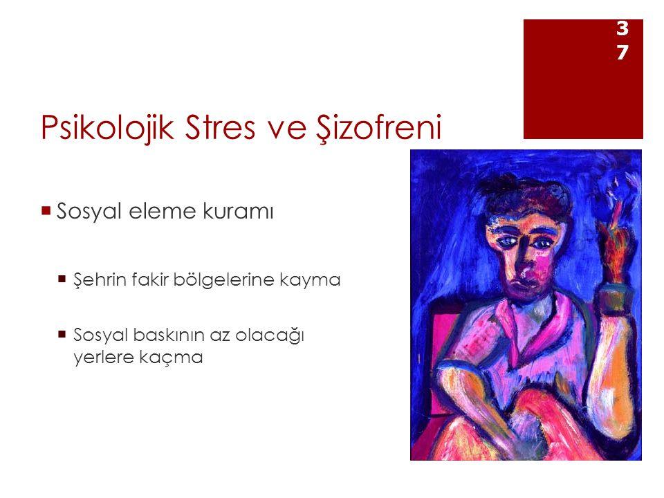 Psikolojik Stres ve Şizofreni