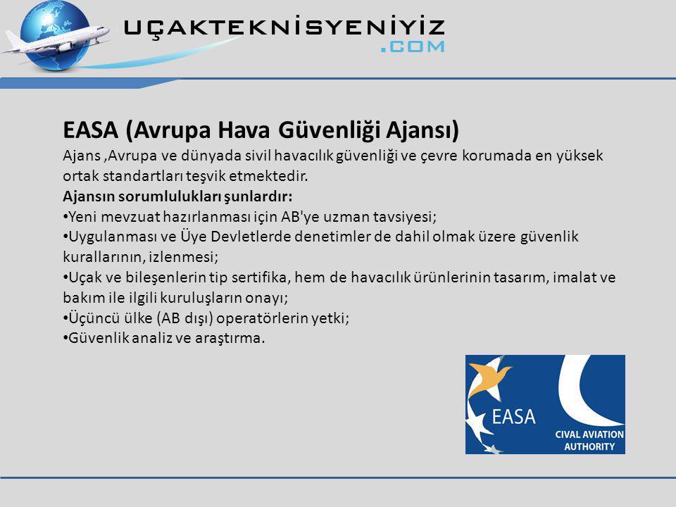 EASA (Avrupa Hava Güvenliği Ajansı)