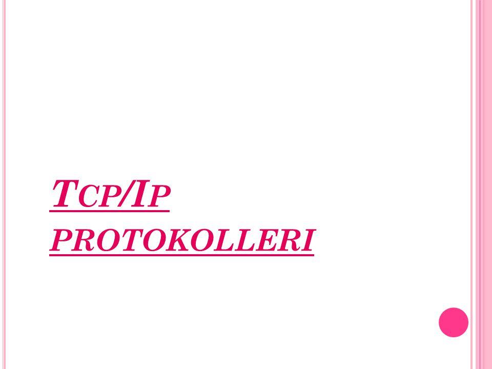 Tcp/Ip protokolleri