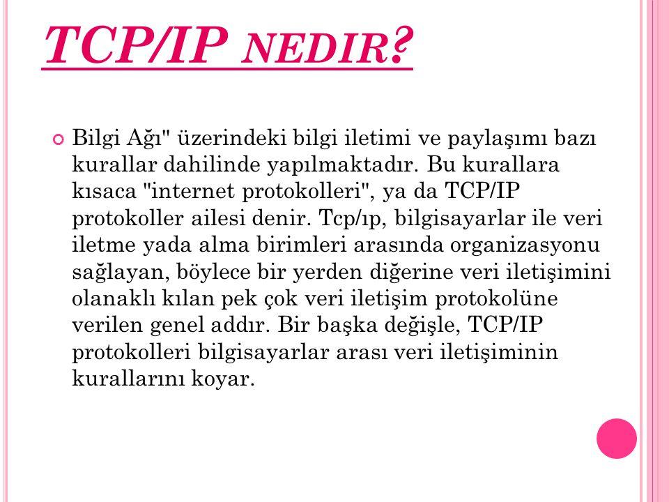 TCP/IP nedir