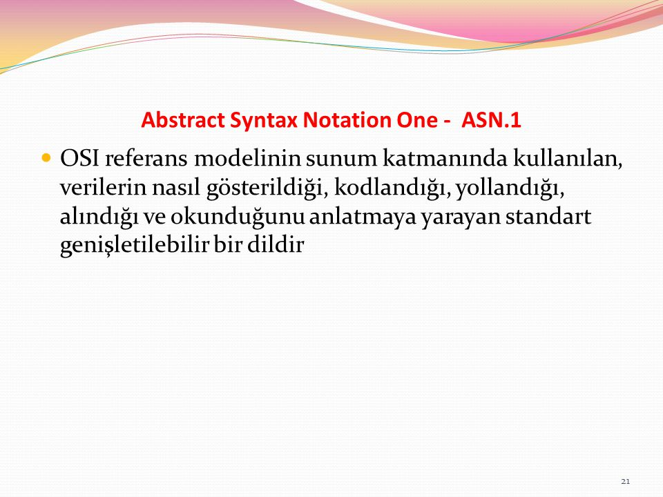 Abstract Syntax Notation One - ASN.1