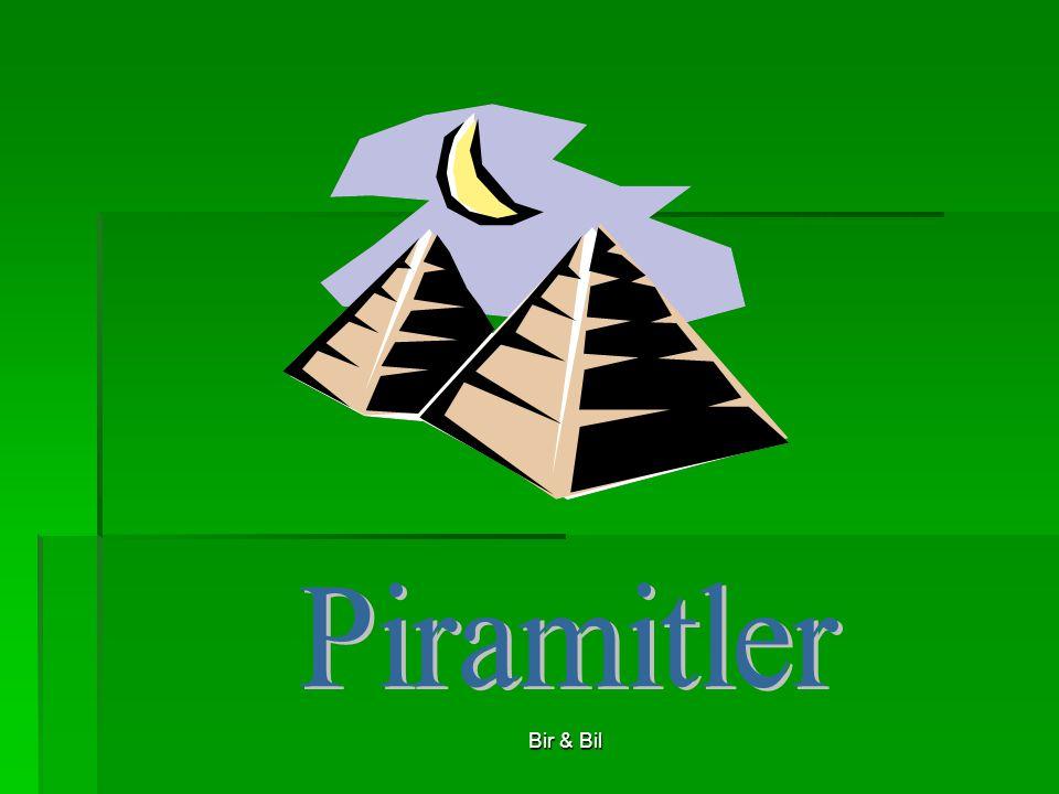 Piramitler Bir & Bil