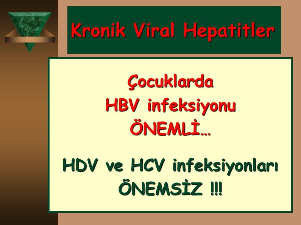 Kronik Viral Hepatitler
