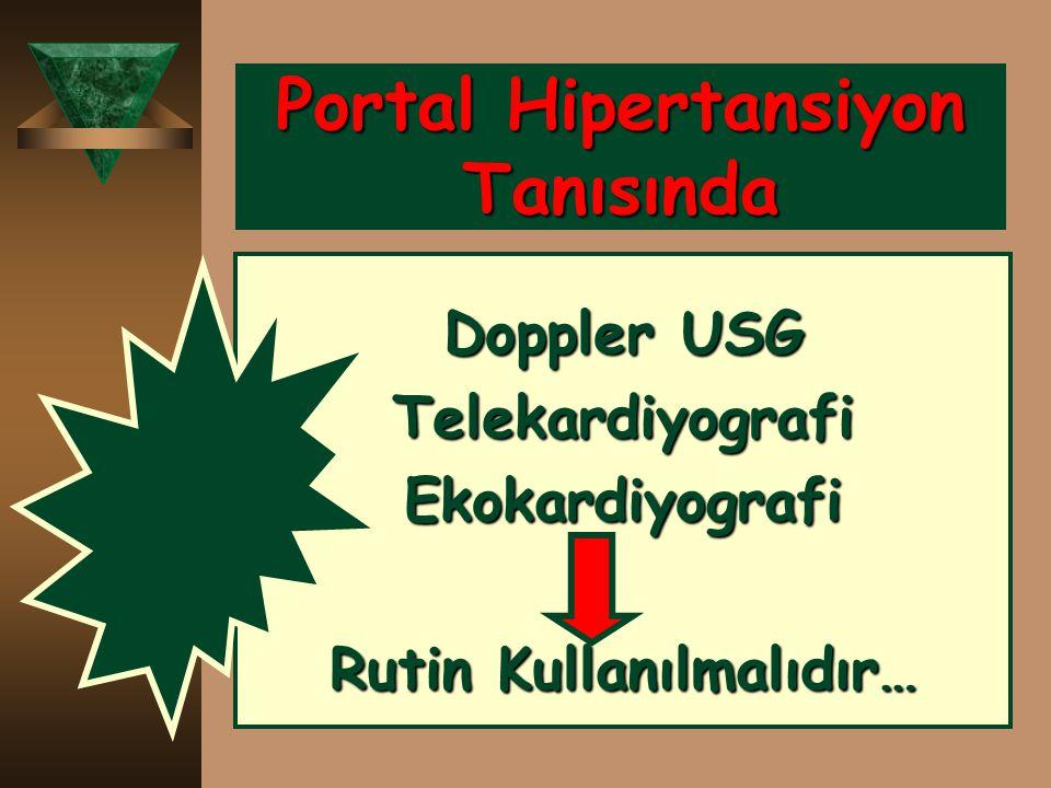 Portal Hipertansiyon Tanısında