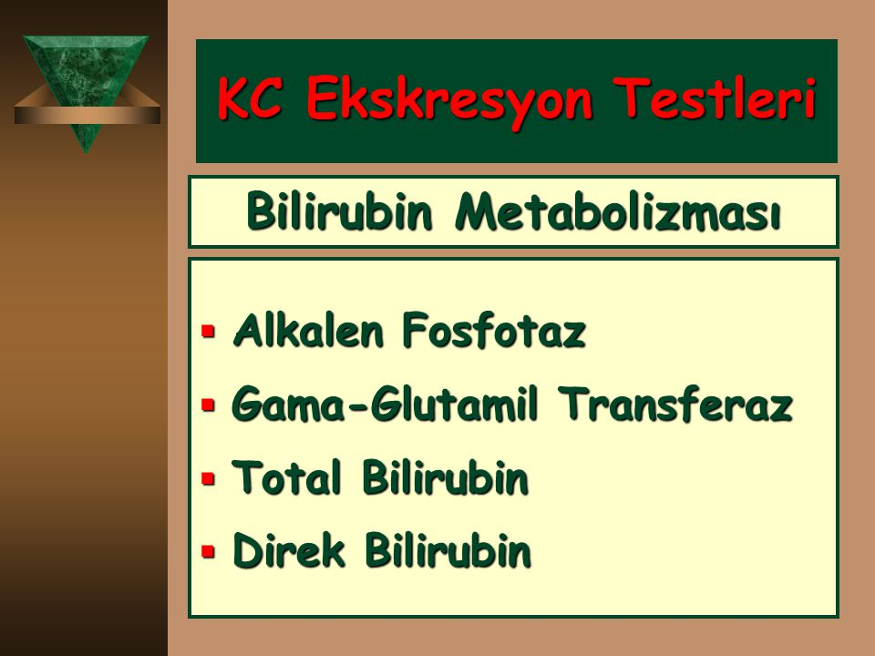 KC Ekskresyon Testleri