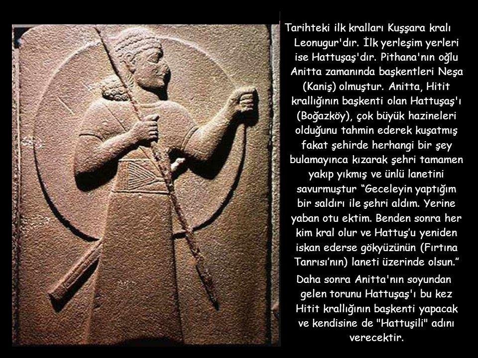 Tarihteki ilk kralları Kuşşara kralı Leonugur dır