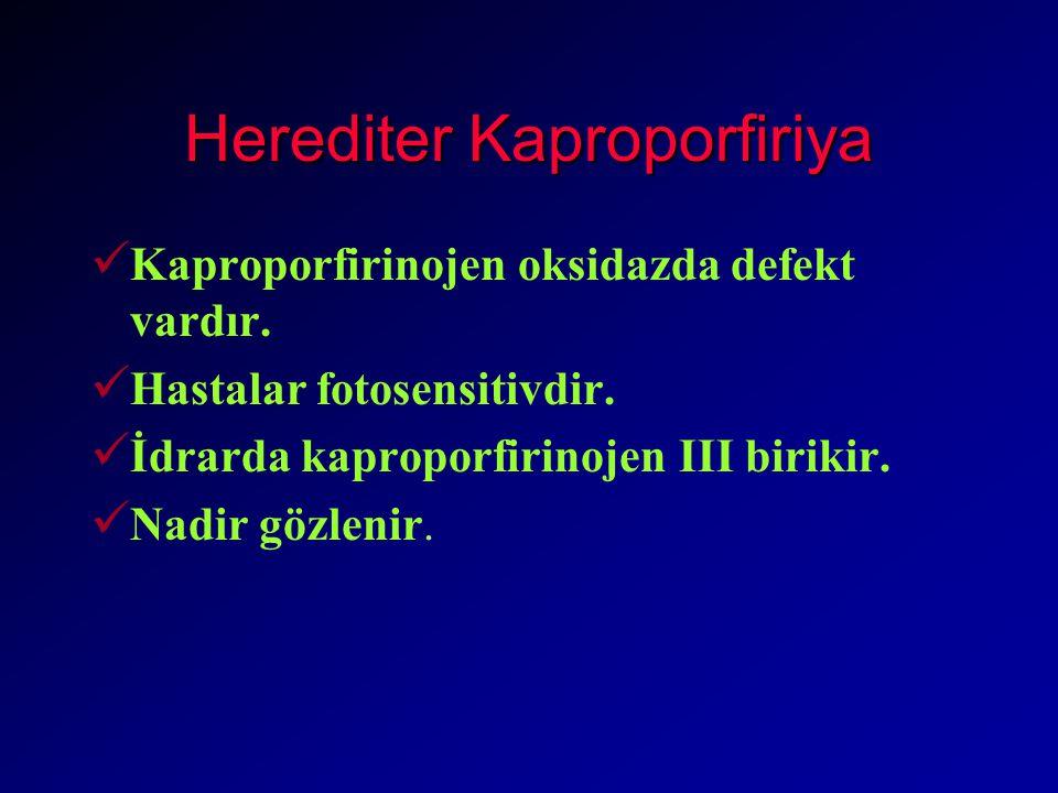Herediter Kaproporfiriya