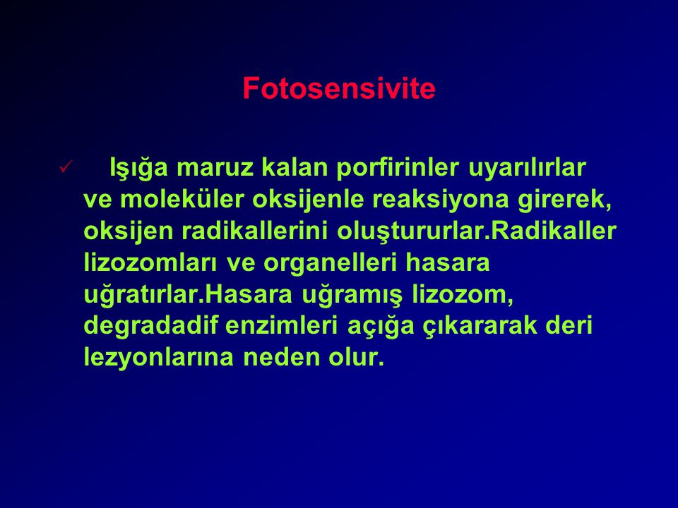 Fotosensivite