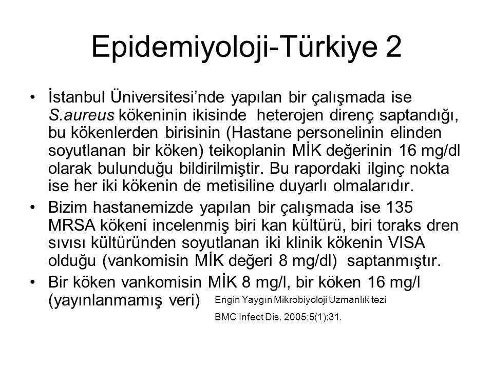 Epidemiyoloji-Türkiye 2