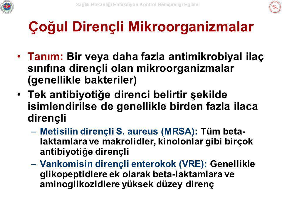 Çoğul Dirençli Mikroorganizmalar
