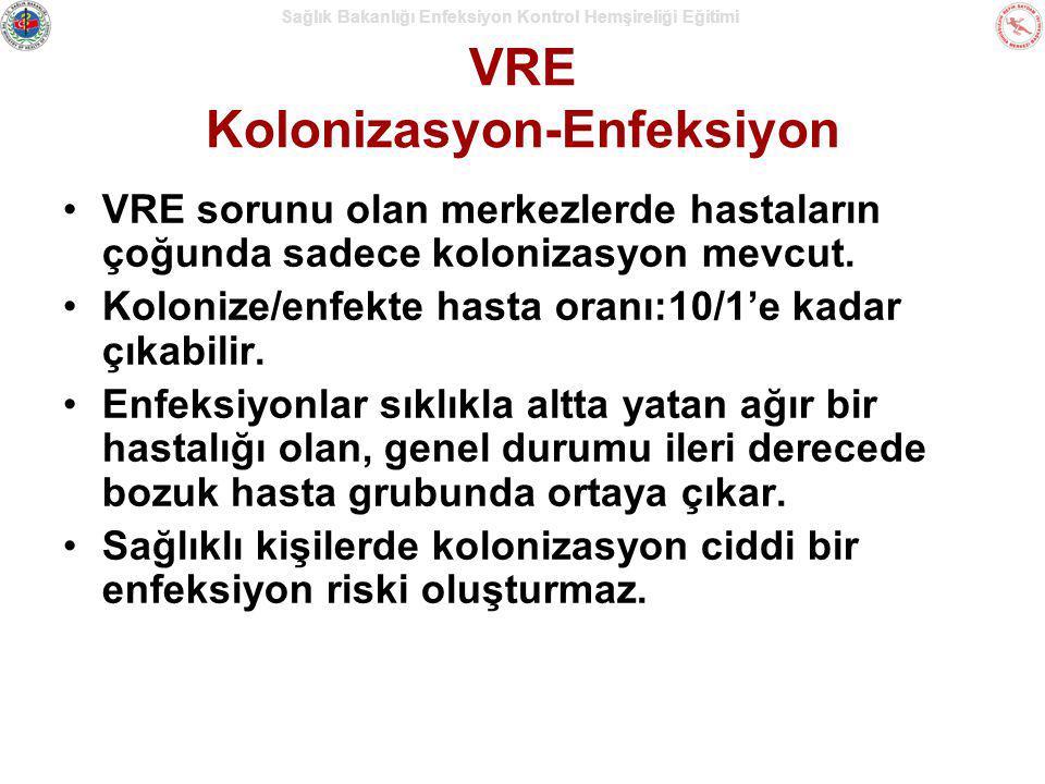 VRE Kolonizasyon-Enfeksiyon