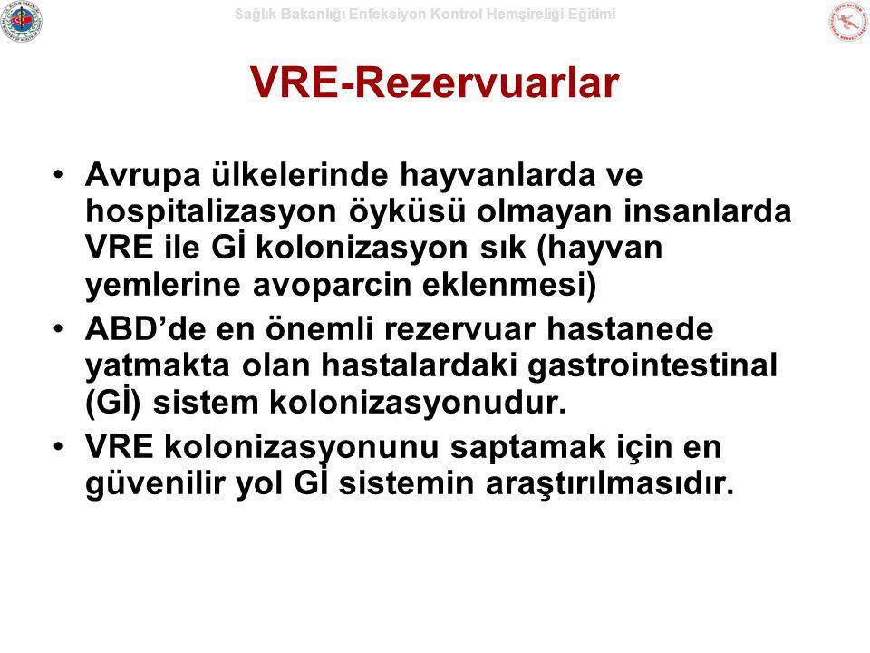 VRE-Rezervuarlar