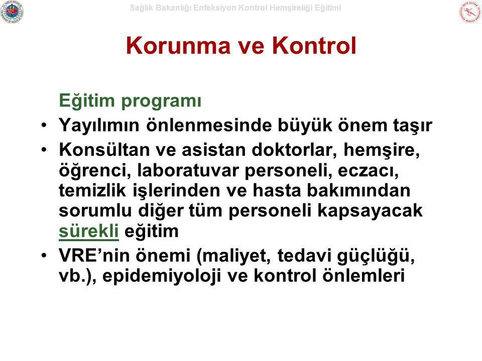 Korunma ve Kontrol Eğitim programı