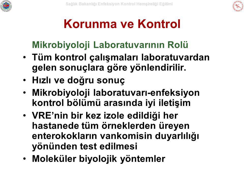Korunma ve Kontrol Mikrobiyoloji Laboratuvarının Rolü