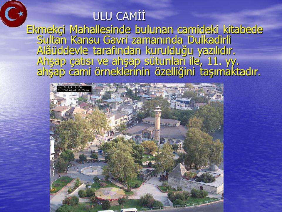 ULU CAMİİ