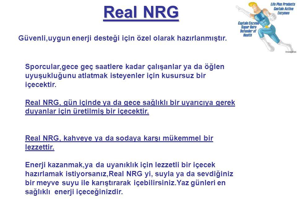 Real NRG Güvenli,uygun enerji desteği için özel olarak hazırlanmıştır.