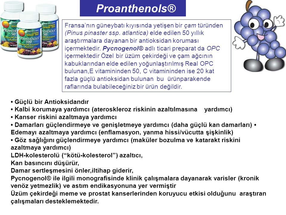 Proanthenols®