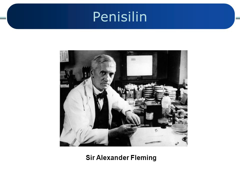 Penisilin Sir Alexander Fleming