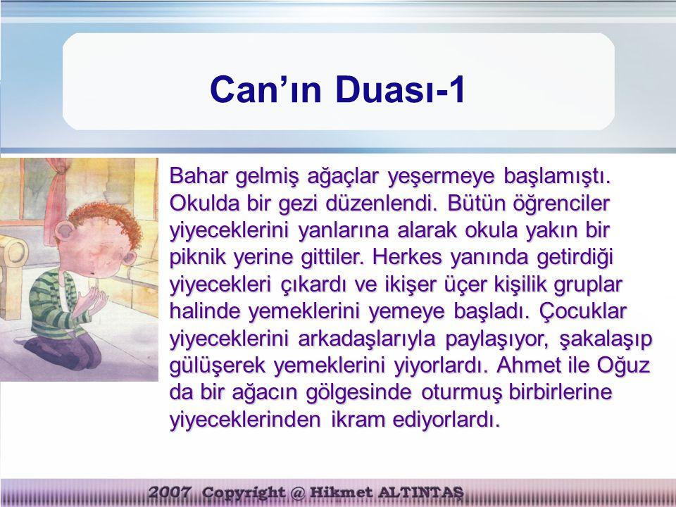 Can'ın Duası-1