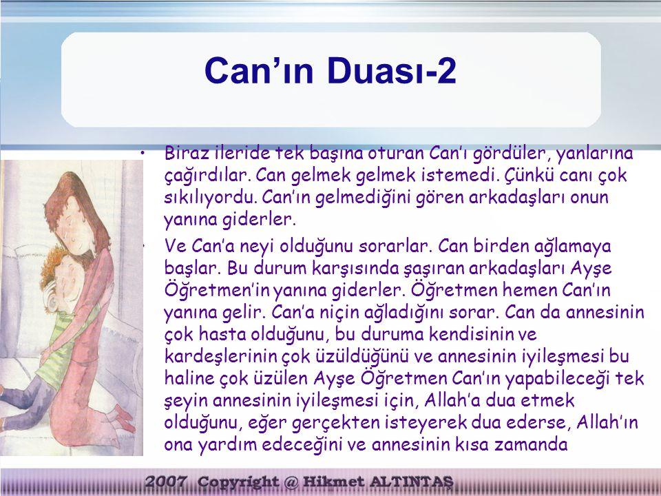 Can'ın Duası-2
