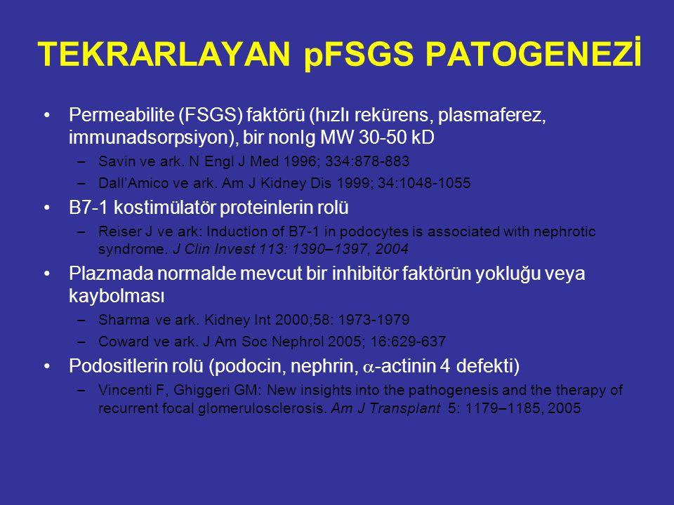 TEKRARLAYAN pFSGS PATOGENEZİ