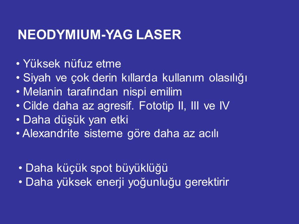 NEODYMIUM-YAG LASER Yüksek nüfuz etme