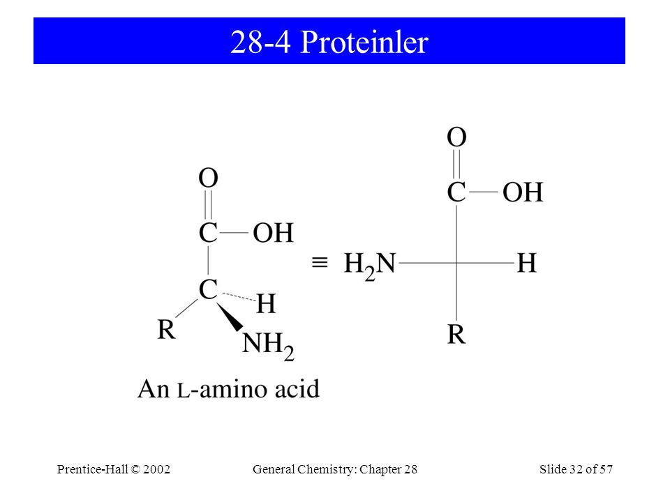 General Chemistry: Chapter 28