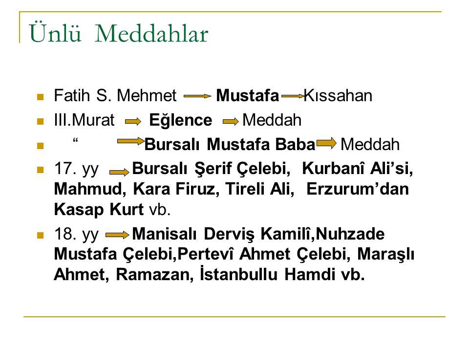 Ünlü Meddahlar Fatih S. Mehmet Mustafa Kıssahan