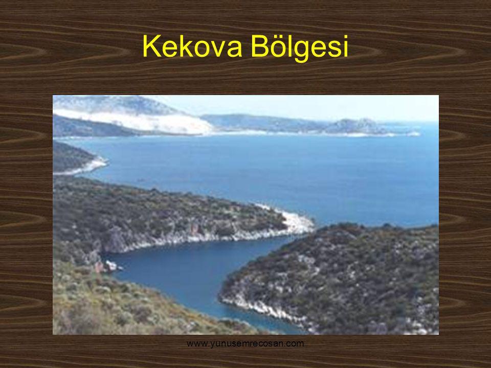 Kekova Bölgesi www.yunusemrecosan.com