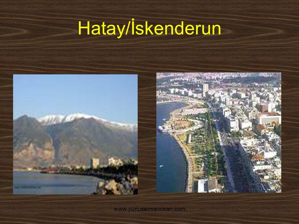 Hatay/İskenderun www.yunusemrecosan.com